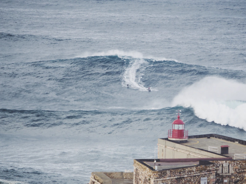 Big waves in Nazare