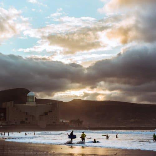 Gran Canaria surfing