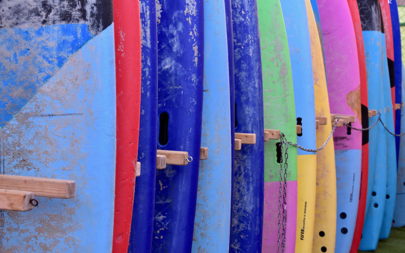 Fuerteventura surfboards