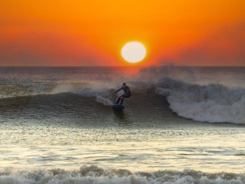 Wales surfer