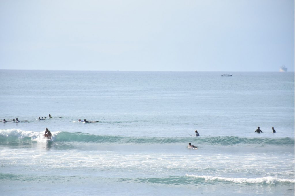 Bali small wave