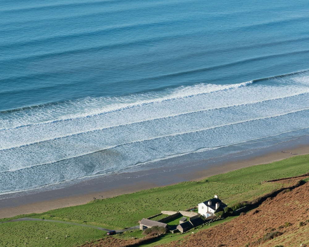 rhossili waves