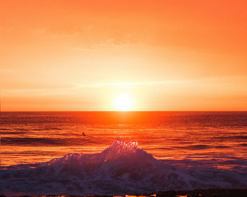 Areia Branca sunset