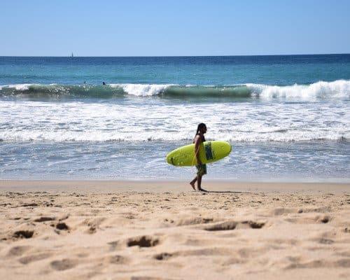 San Pancho surfer