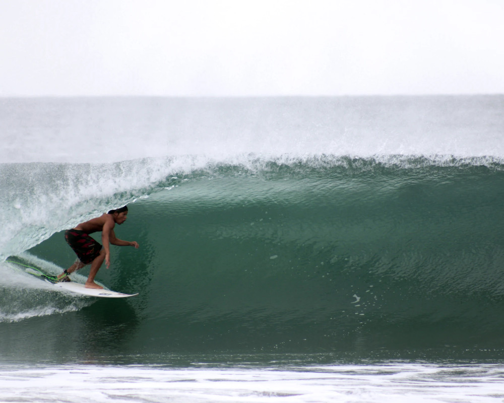 Surfing Mexico Colima