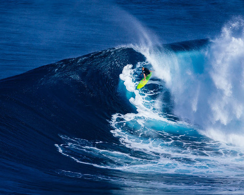 A big wave in the USA