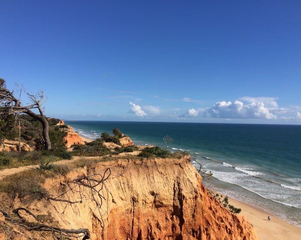 Albufeira surf beach