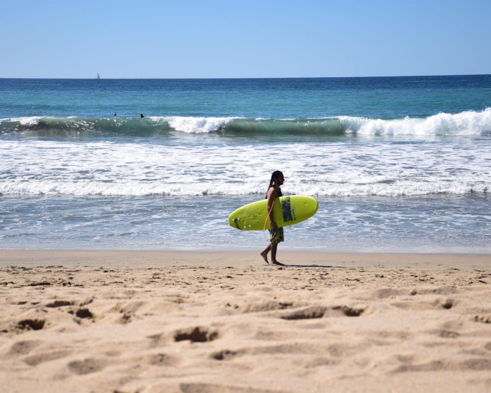 San Pancho surf