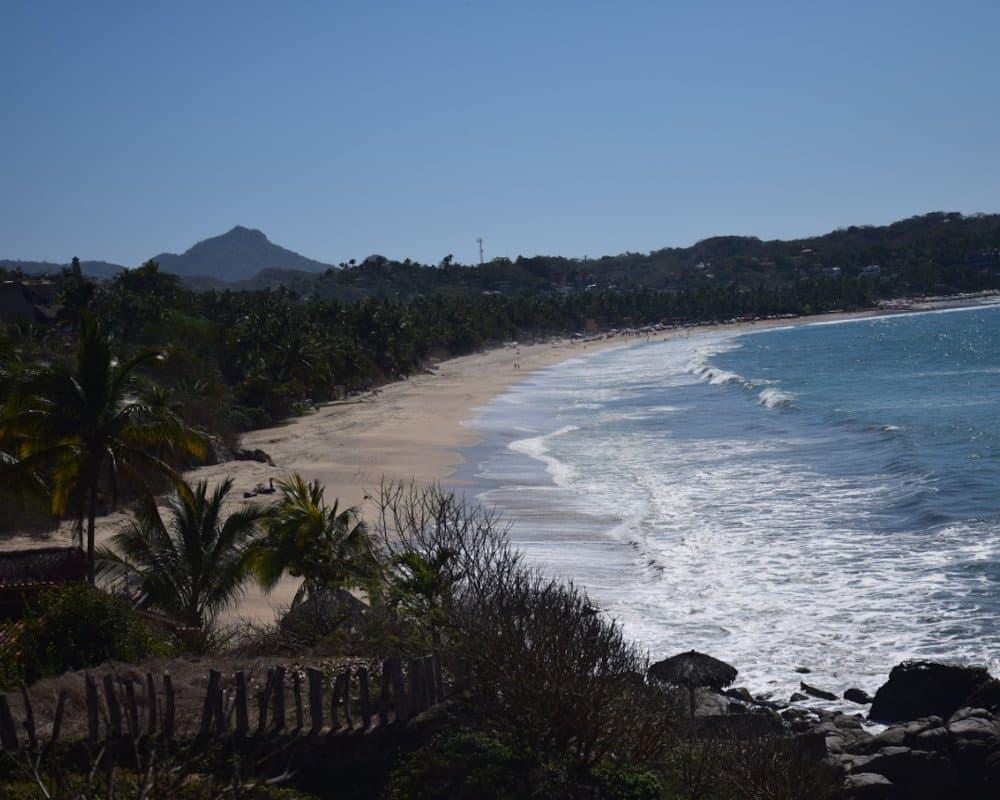 Surf beach in Sayulita