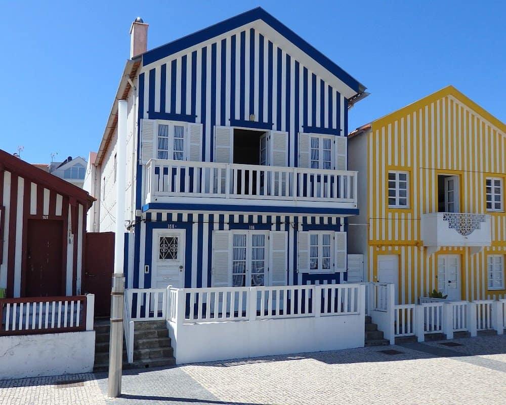 Costa Nova Beach houses