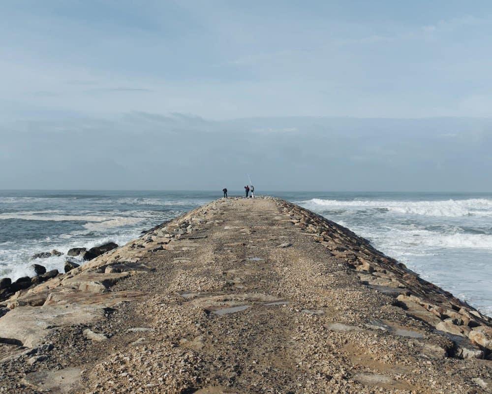 Costa Nova Beach waves