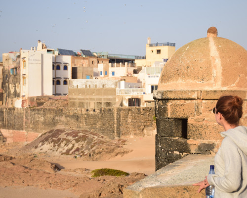 Essaouira city walls