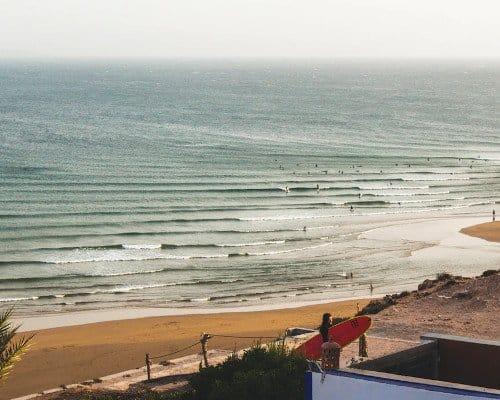 Imsouane surf beach