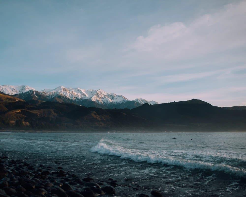 Kaikoura surf waves