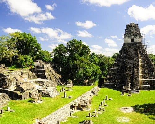 Ruins in Guatemala