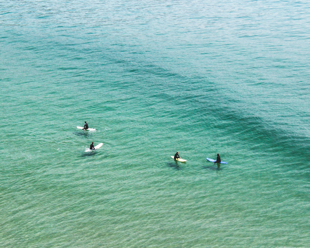 Surfers in Imsouane