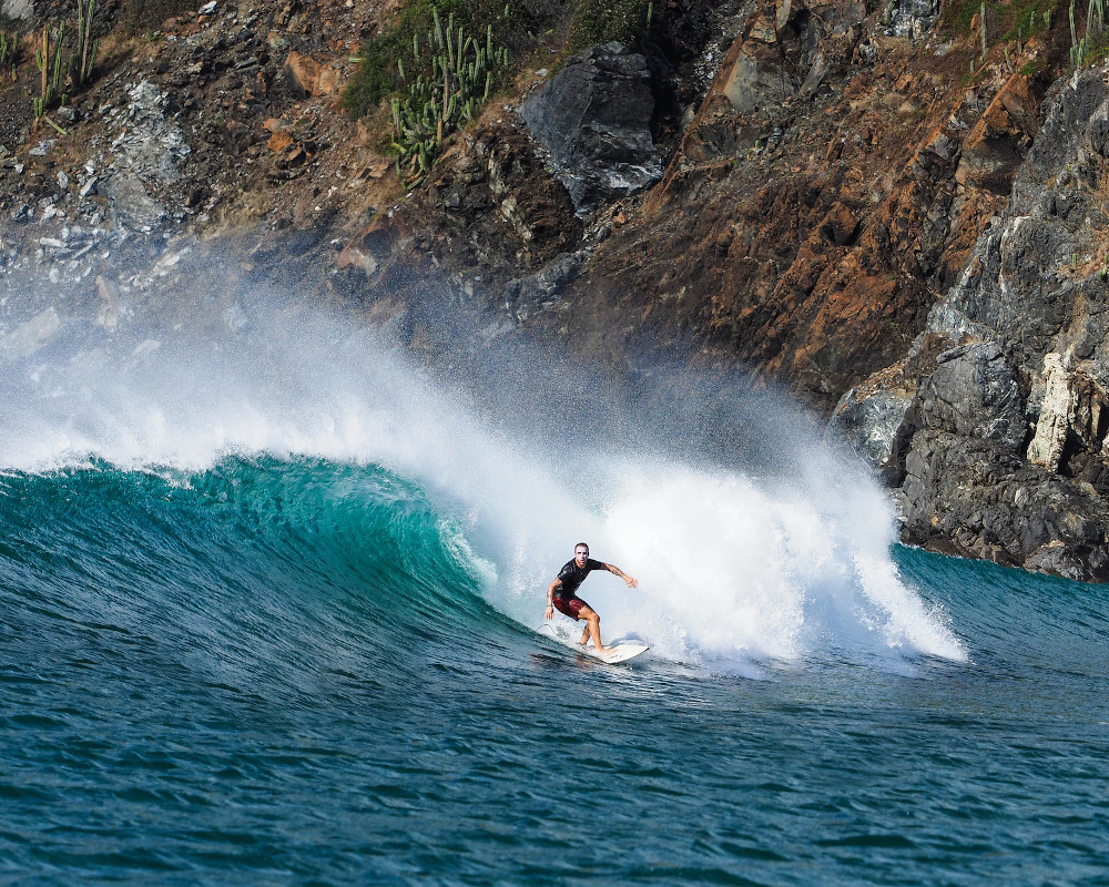 Surfing Central America