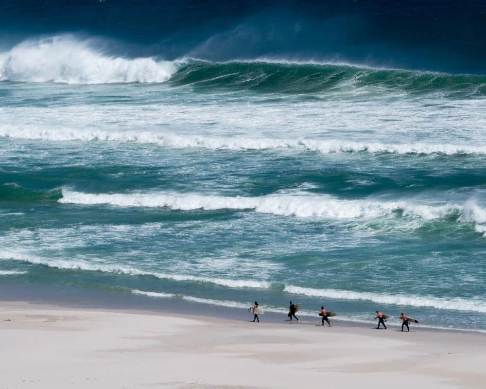 Surfing in Africa