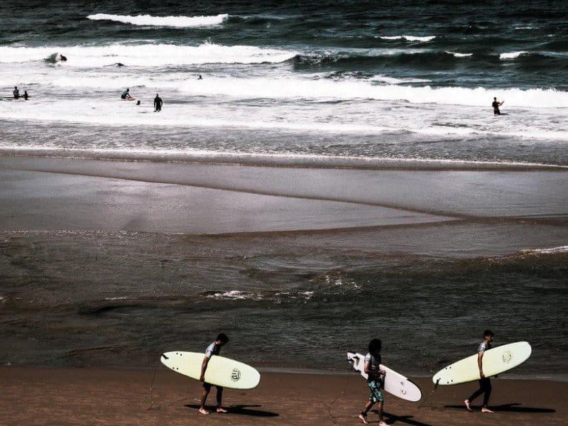 Basque Country surf beaches