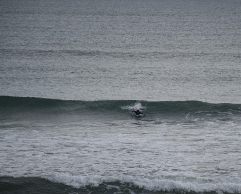 SK surf breaks near Weligama