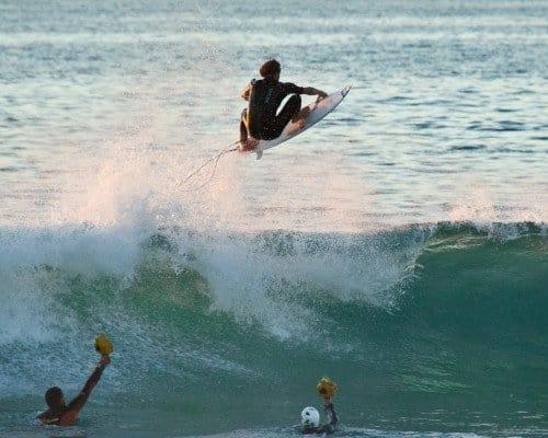 Seignosse wave jump