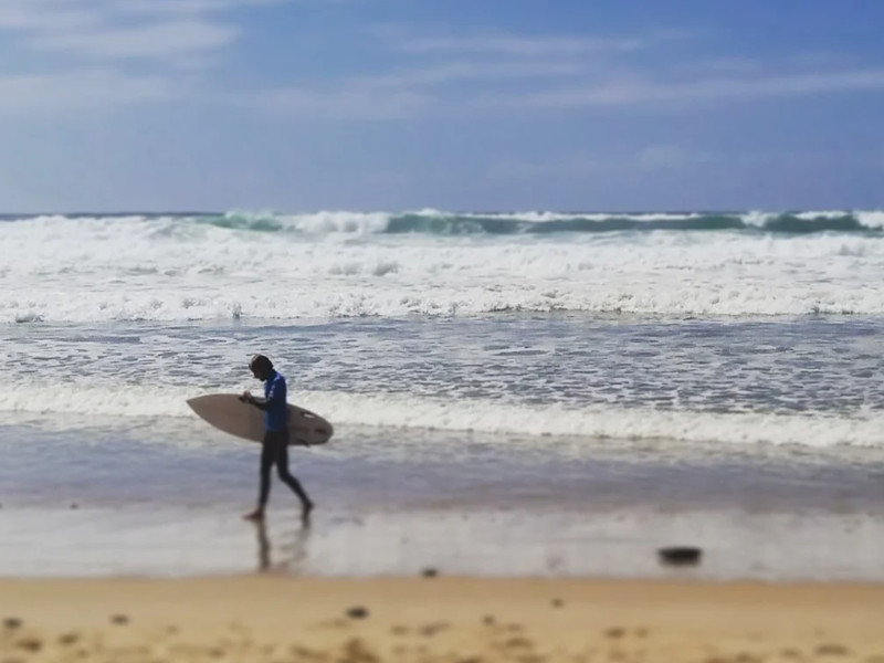 Surf finished in Lacanau