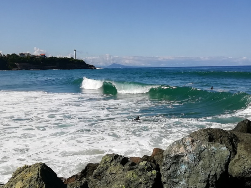 surfing Anglet