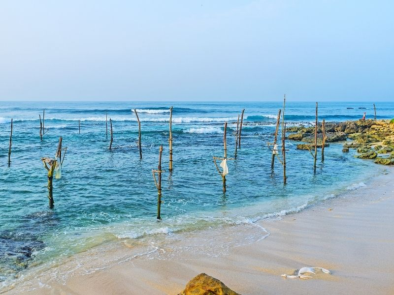 Ahangama fishing sticks