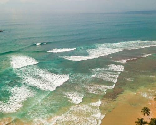 Ahangama surf spots