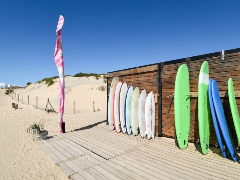 Biscarrosse surf rentals