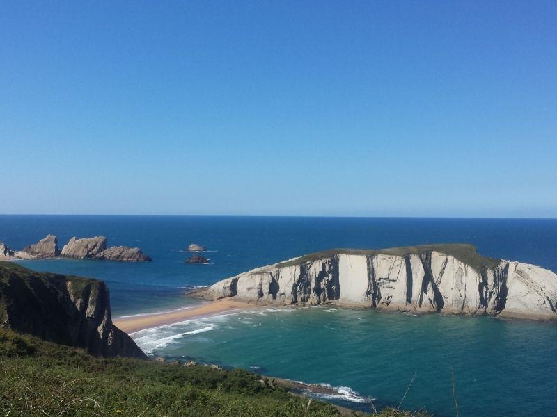 Cantabria shoreline