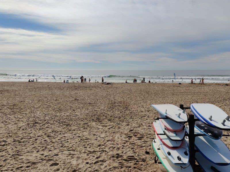 Carcavelos surf rentals