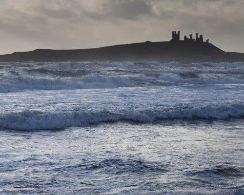 Northumbria coast surf