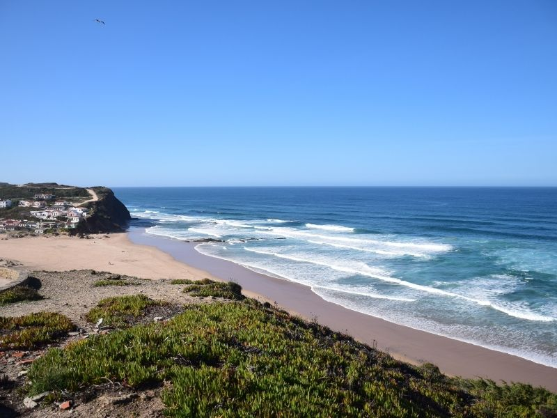 A surf town in Portugal