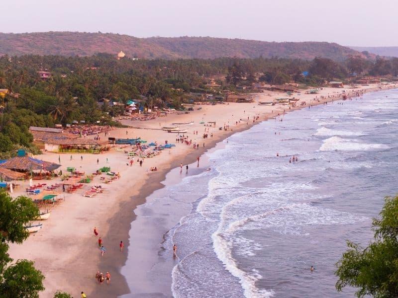 North Goa beaches