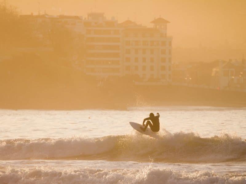 Surf in San Sebastian