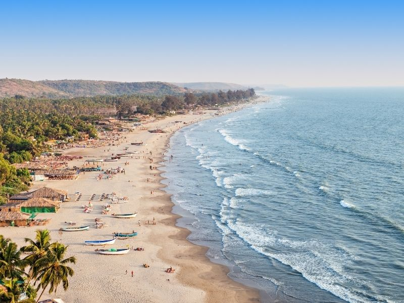 surf beaches in western india
