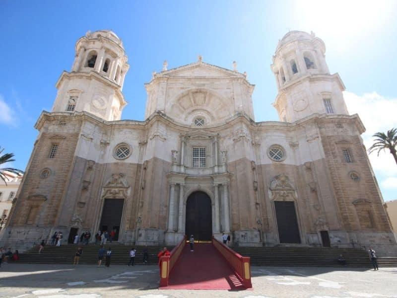 The old center of Cadiz