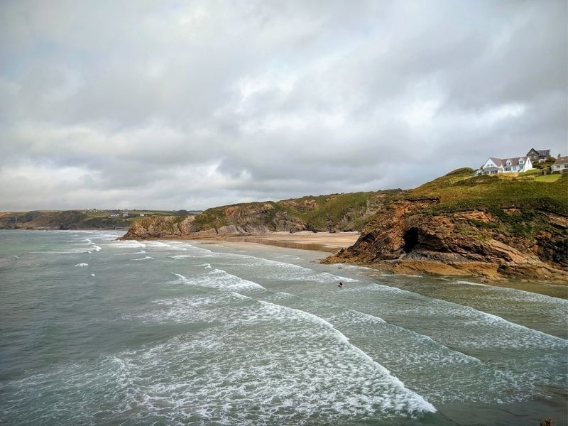 surfing Pembrokeshire