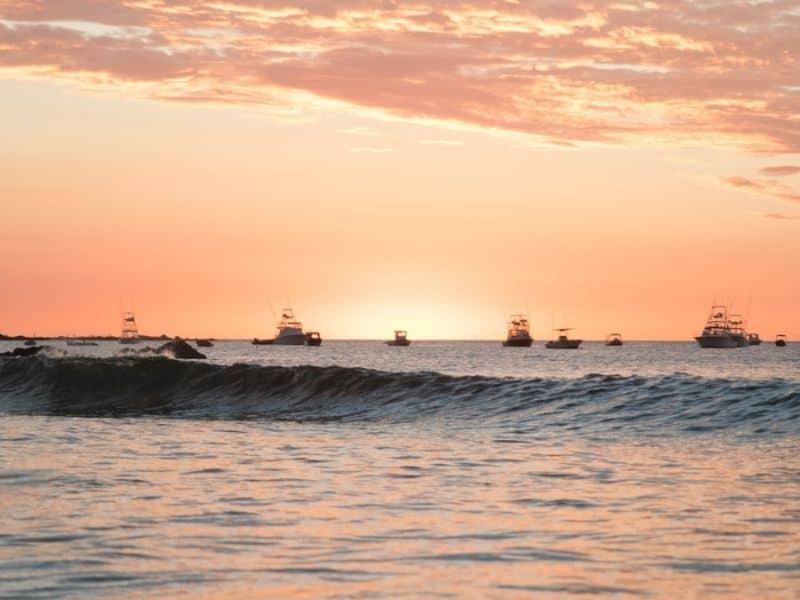 A Tamarindo surf spot