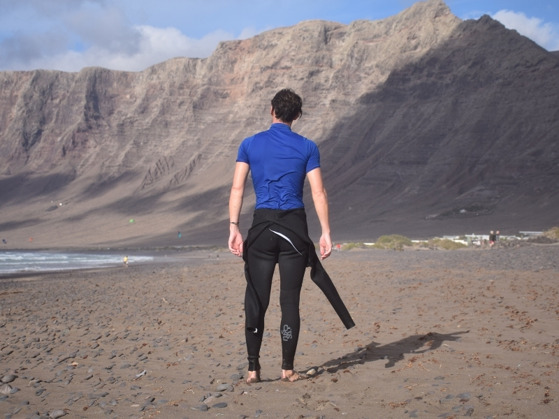 Different types of wetsuits