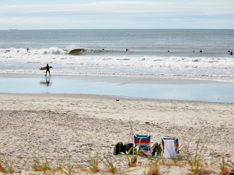 Surfing on the East Coast USA
