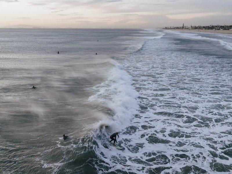 Huntington Beach waves