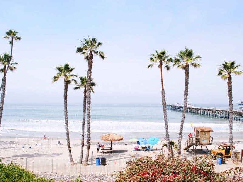 San Clemente surf beach