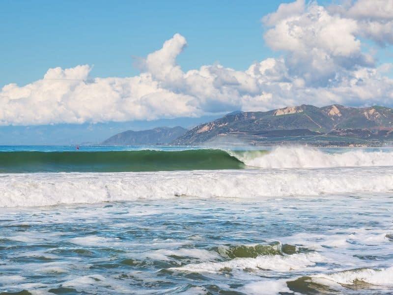Surfing in Ventura