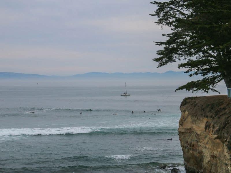 Surfers in Monterey
