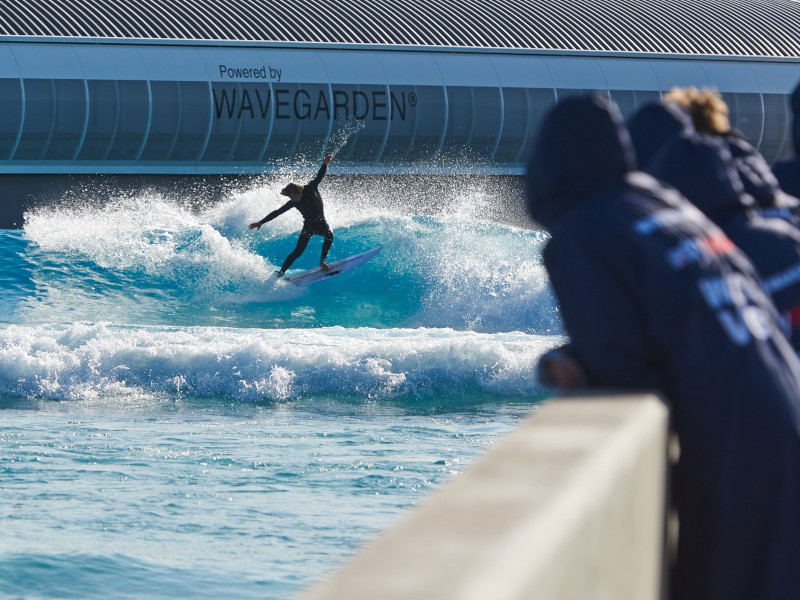 The Wave Bristol Surfer